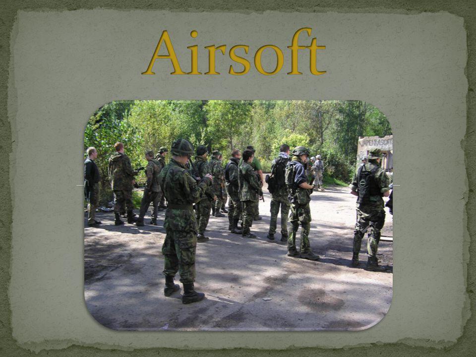 Airsoft je sport, zábava a pro někoho styl života.