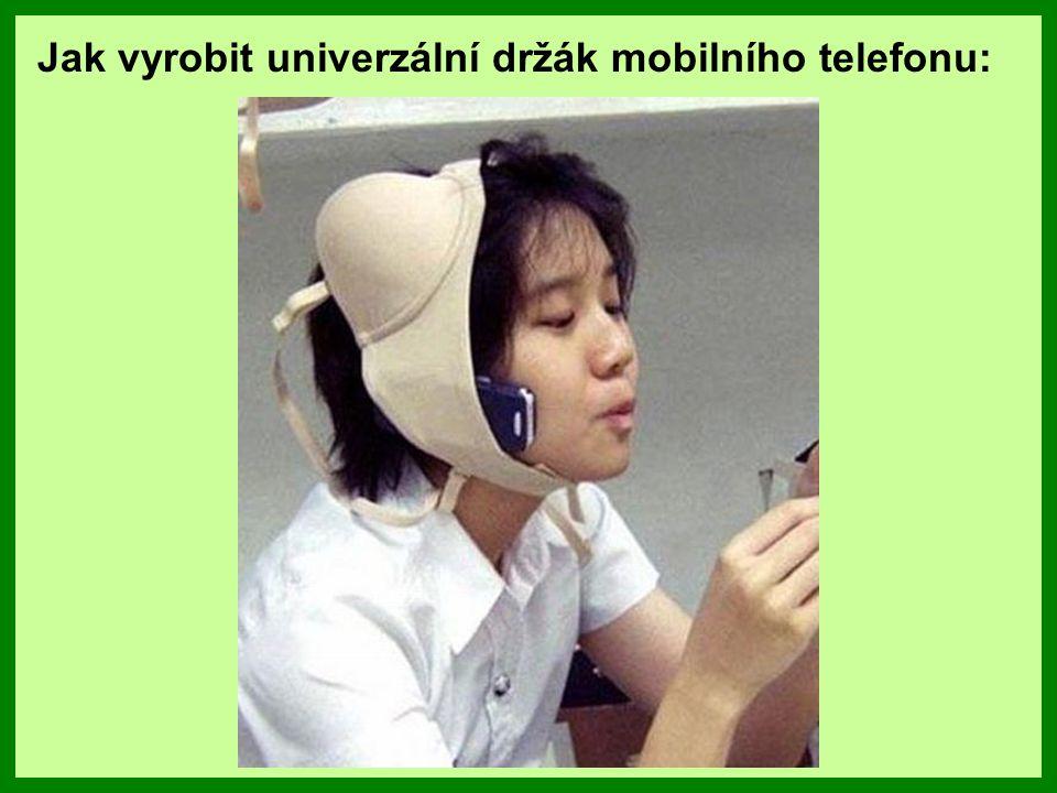 Jak vyrobit univerzální držák mobilního telefonu: