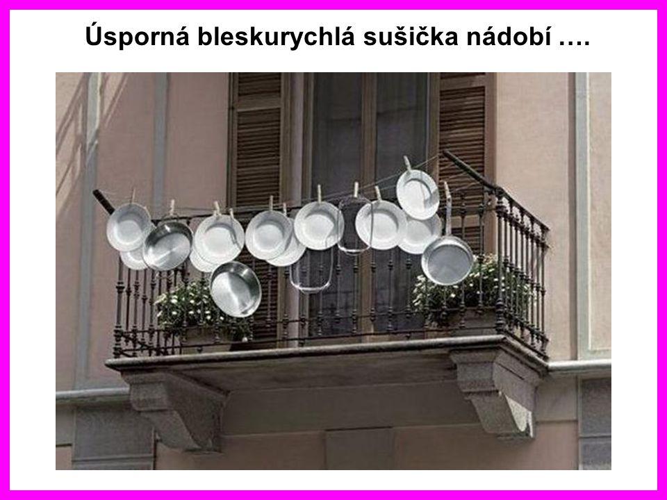 Úsporná bleskurychlá sušička nádobí ….