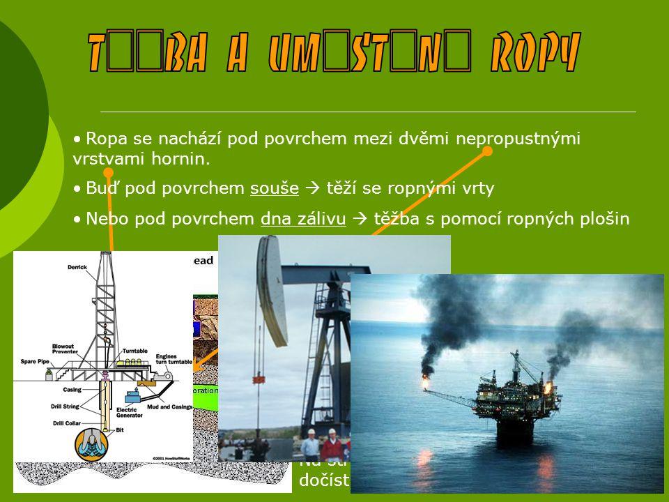 Prokázané rezervy: 715 mld barelů  57% sv.