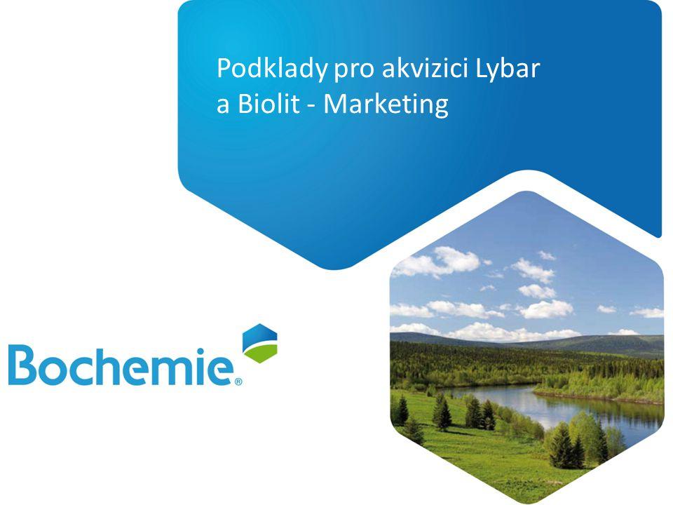 Podklady pro akvizici Lybar a Biolit - Marketing