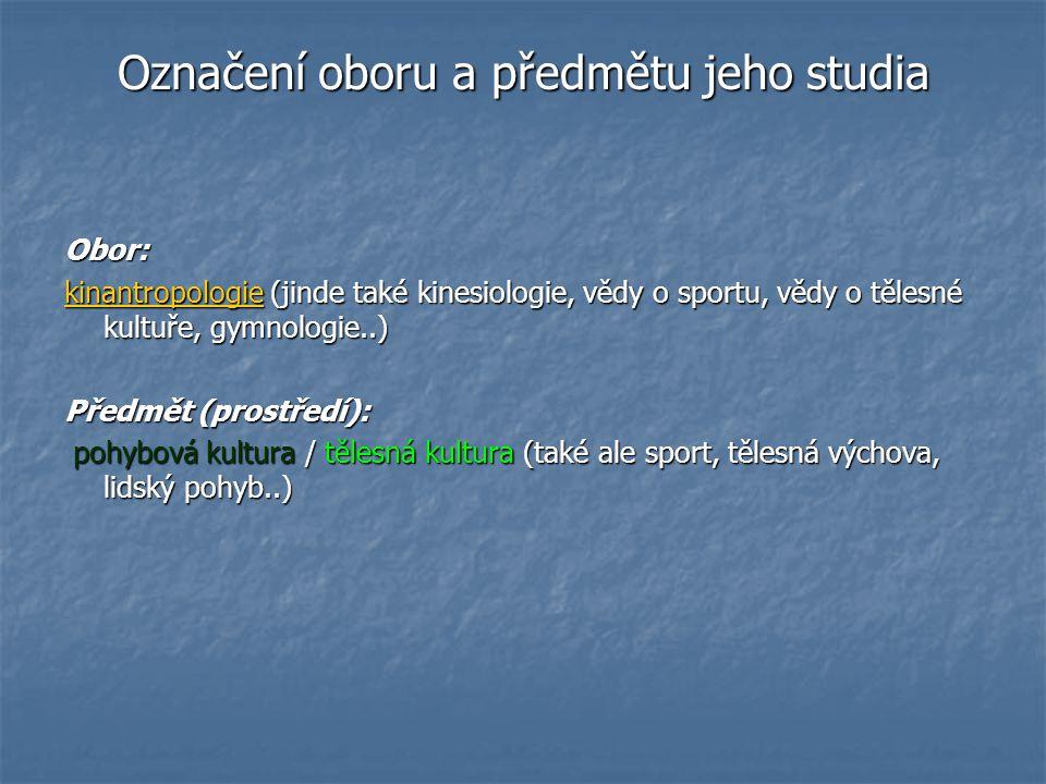 Filosofická antropologie a filosofická kinantropologie Filosofická antropologie (fil.