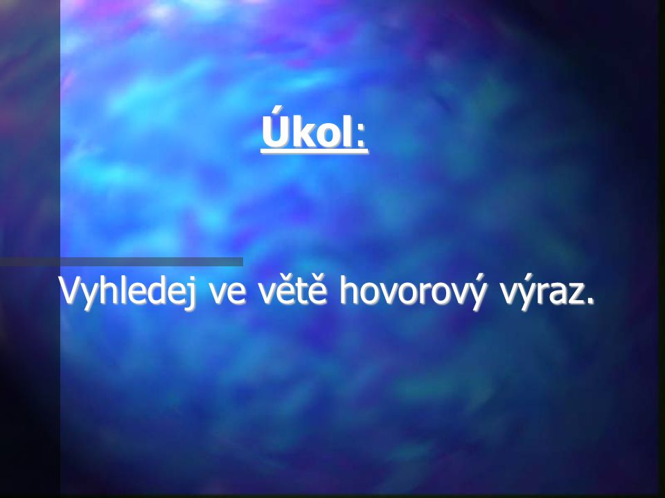 Slova spisovná, hovorové výrazy 6.ročník ZŠ Použitý software: držitel licence - ZŠ J.