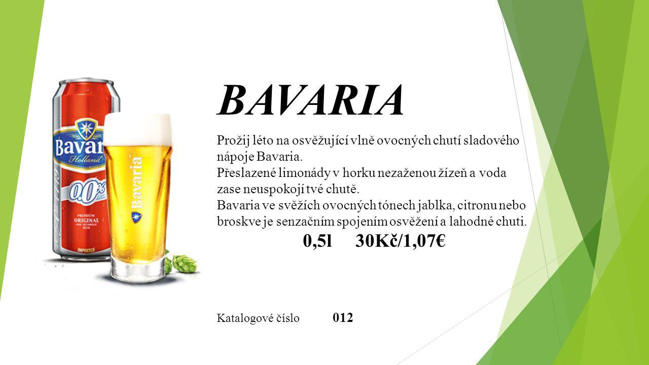 Prožij léto na osvěžující vlně ovocných chutí sladového nápoje Bavaria.