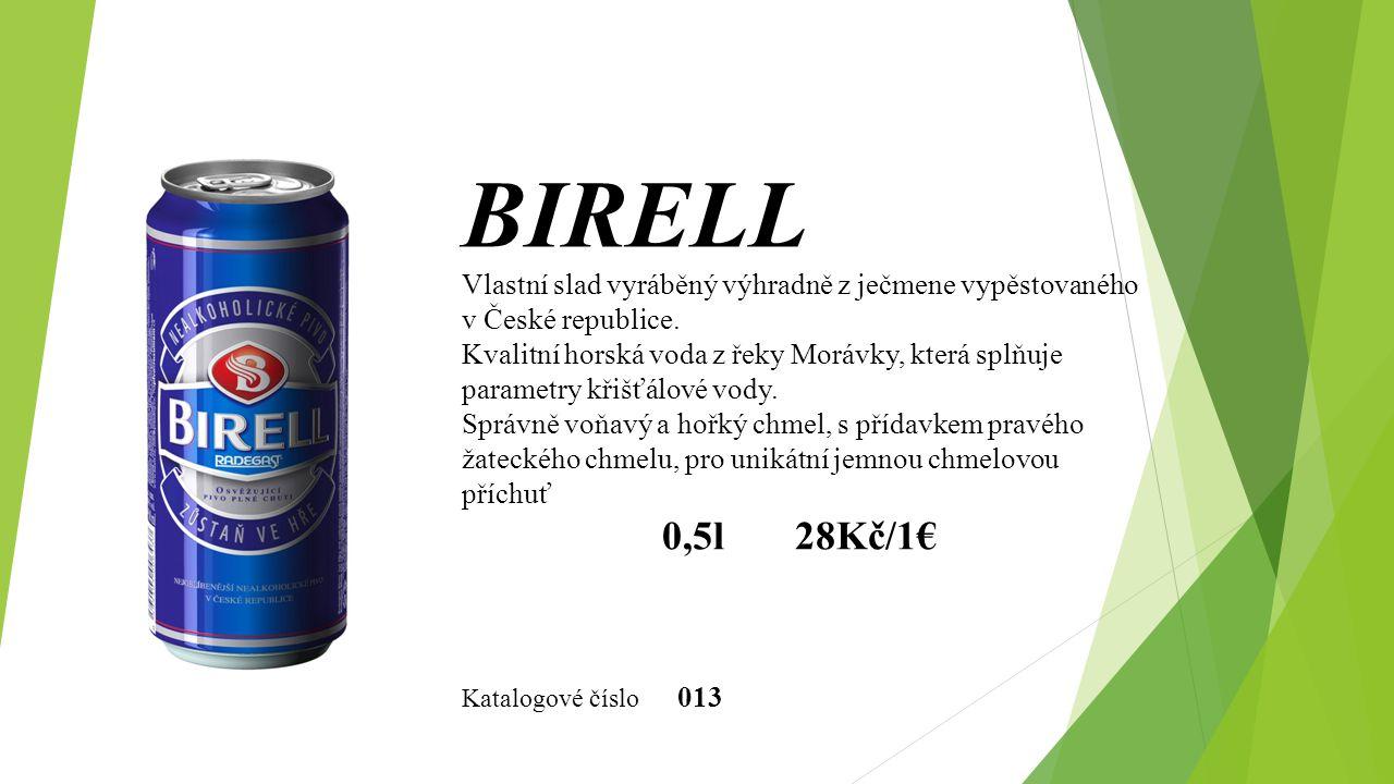 Vlastní slad vyráběný výhradně z ječmene vypěstovaného v České republice. Kvalitní horská voda z řeky Morávky, která splňuje parametry křišťálové vody