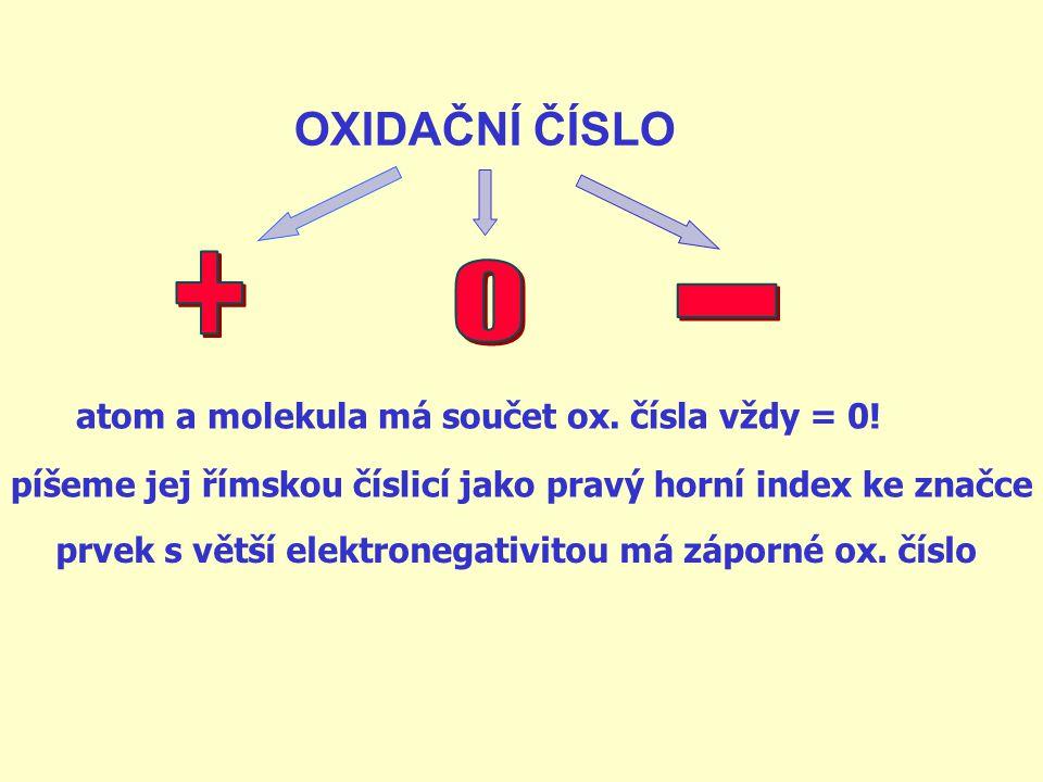 koncovky podle hodnoty oxidačního čísla Na + Ca II+ Al III+ Pb IV+ P V+ Cr VI+ Mn VII+ Os VIII+ sodík ný vápníknatý hliníkitý vápenatý olovoičitý fosf