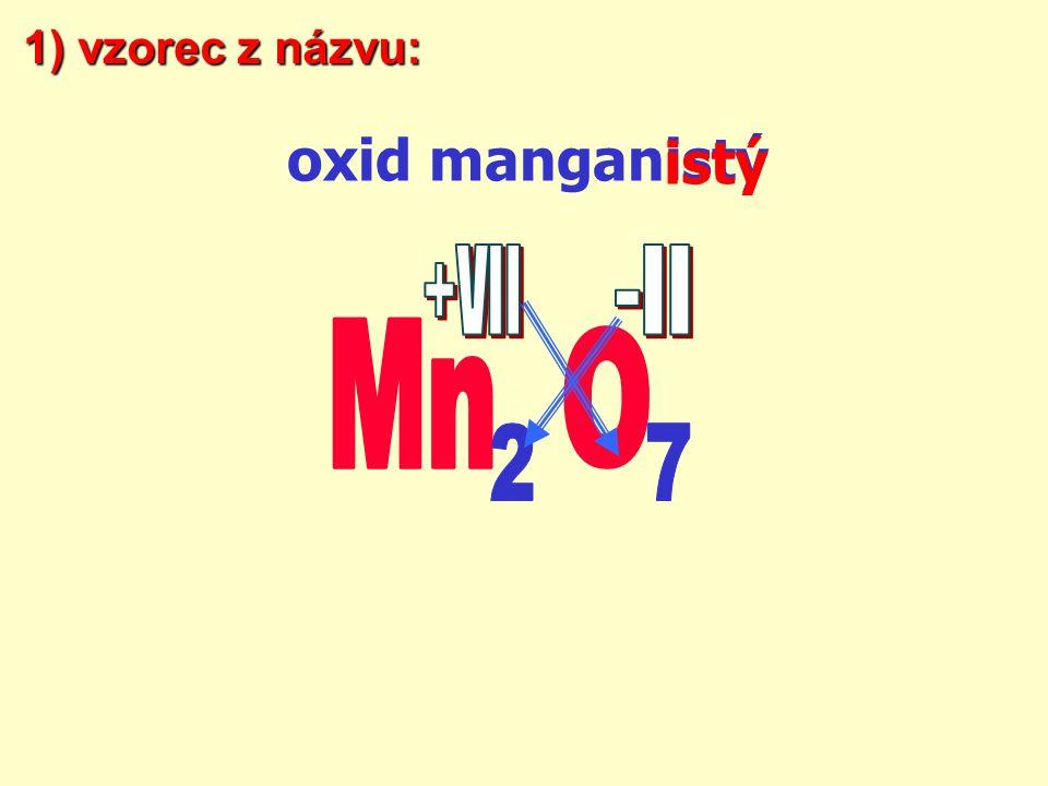 atom a molekula má součet ox.čísla vždy = 0. prvek s větší elektronegativitou má záporné ox.