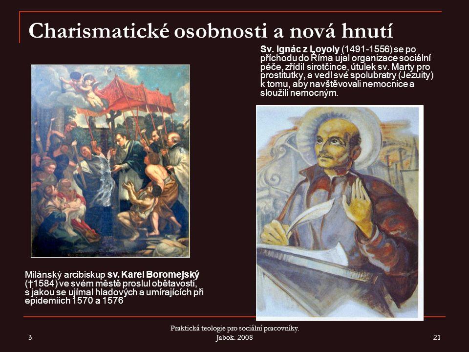 3 Praktická teologie pro sociální pracovníky.Jabok.