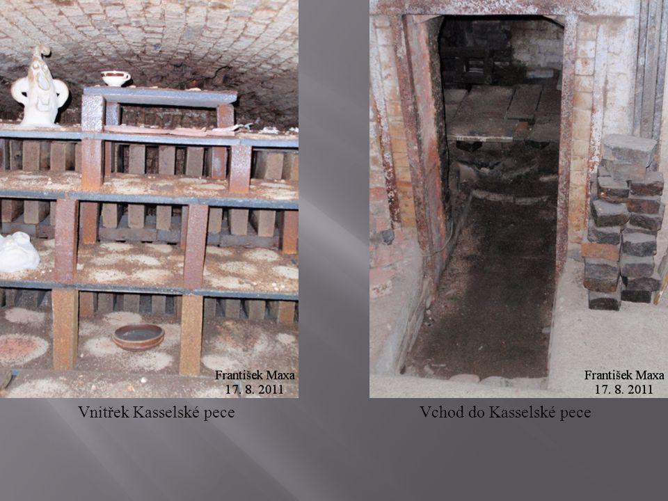 Vnitřek Kasselské peceVchod do Kasselské pece