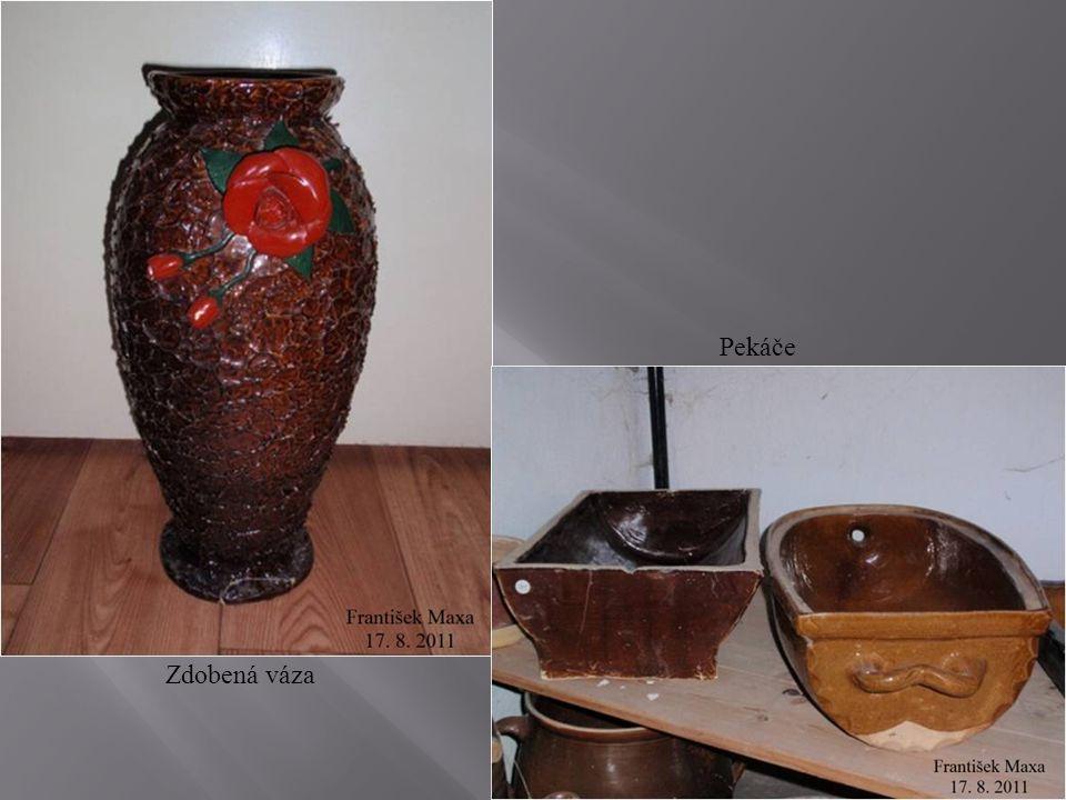 Pekáče Zdobená váza