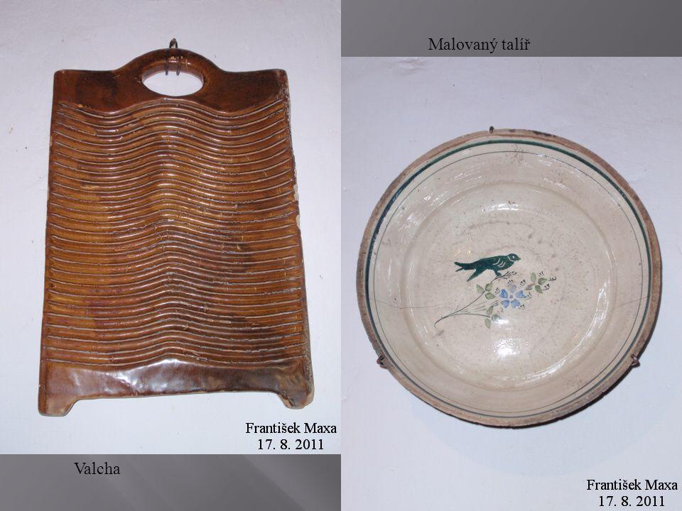 Valcha Malovaný talíř