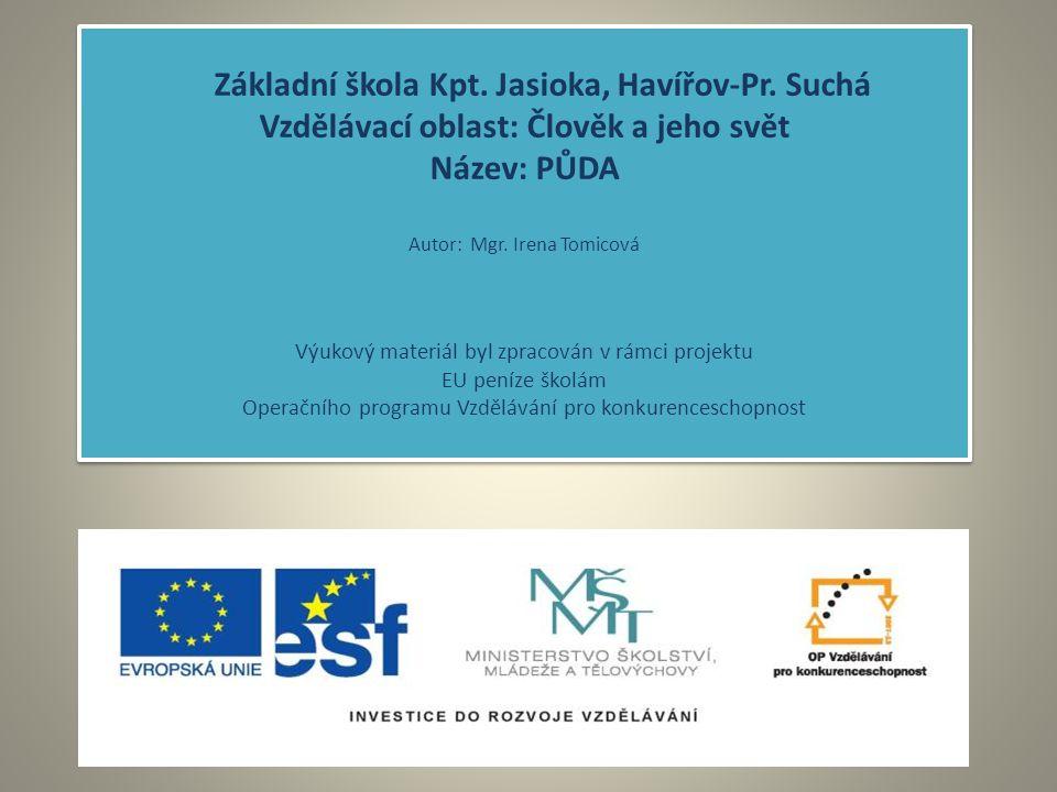 Základní škola Kpt.Jasioka, Havířov-Pr.