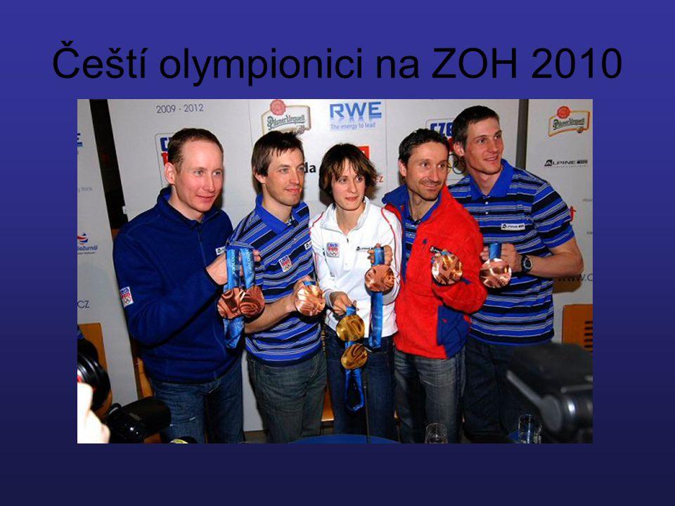 Čeští olympionici na ZOH 2010