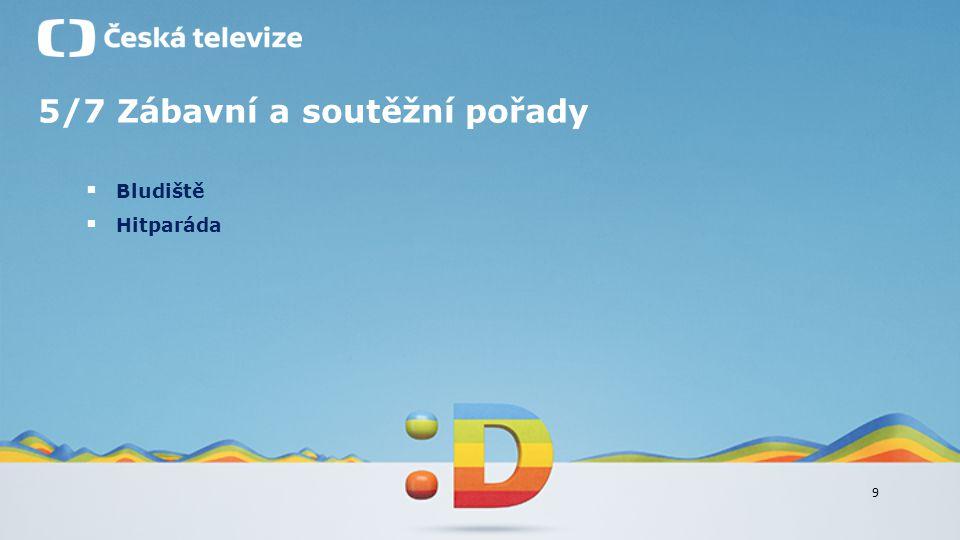 9 5/7 Zábavní a soutěžní pořady  Bludiště  Hitparáda