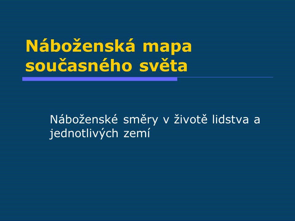 Přítomnost náboženství v Česku současný stav - právně  Zákon o majetkovém vyrovnání s církvemi a náboženskými společnostmi, č.
