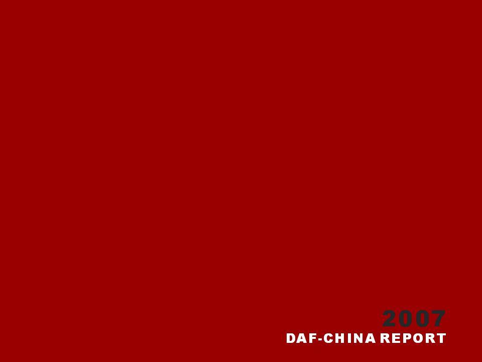 Soutěž DAF probíhá v Číně od roku 2006.