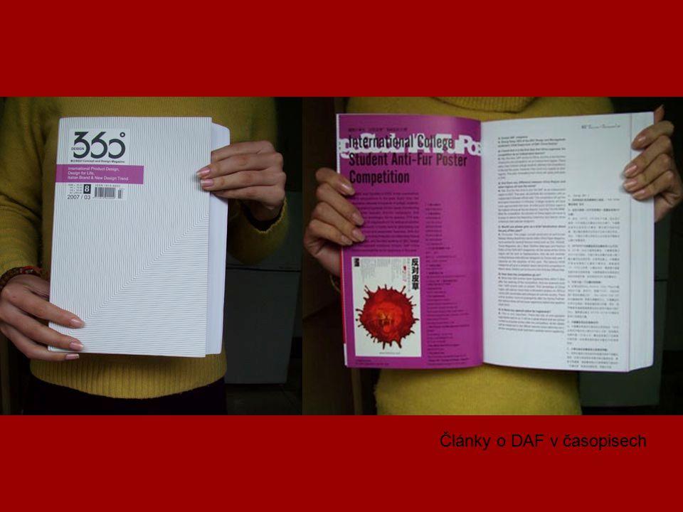 Články o DAF v časopisech