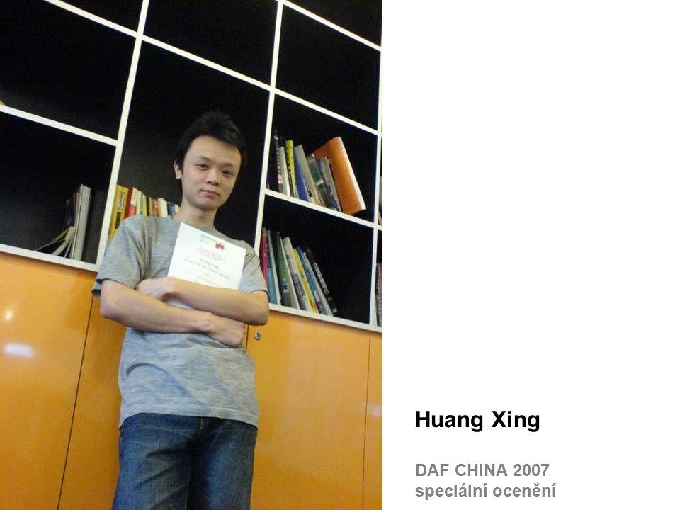 Huang Xing DAF CHINA 2007 speciální ocenění