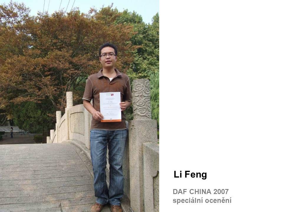 Li Feng DAF CHINA 2007 speciální ocenění