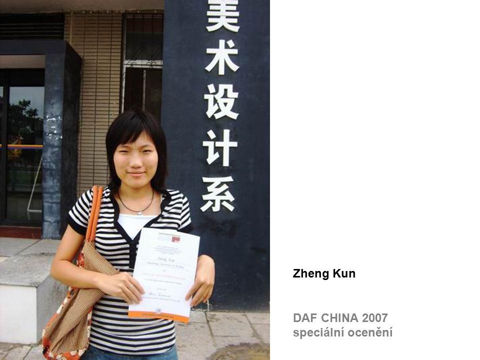DAF CHINA 2007 speciální ocenění Zheng Kun