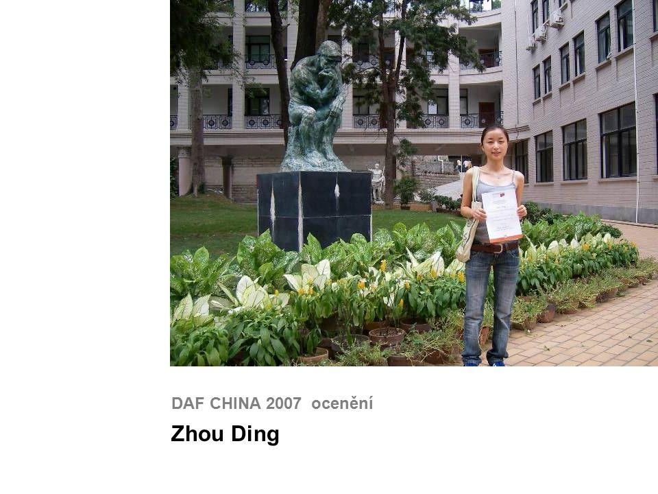 DAF CHINA 2007 ocenění Zhou Ding