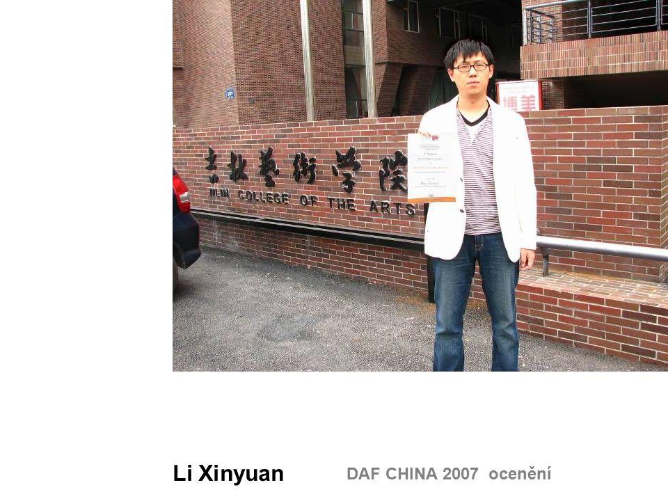 DAF CHINA 2007 ocenění Li Xinyuan