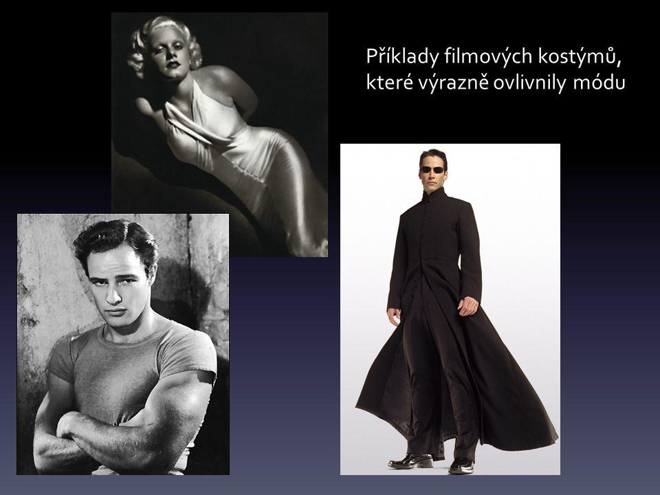 Příklady filmových kostýmů, které výrazně ovlivnily módu
