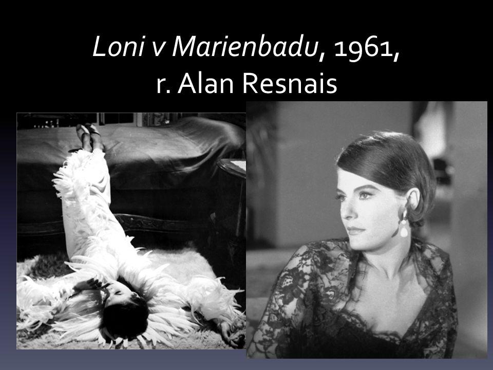 Loni v Marienbadu, 1961, r. Alan Resnais