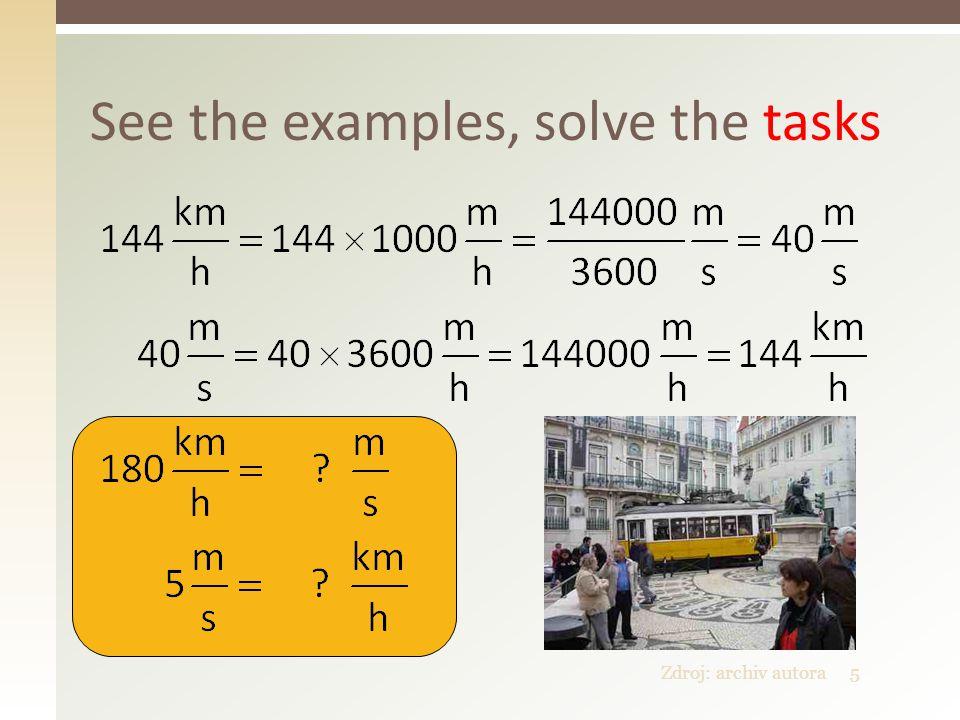6 Match equivalent speeds 1.10 m/s 2. 72 km/h 3. 90 km/h 4.