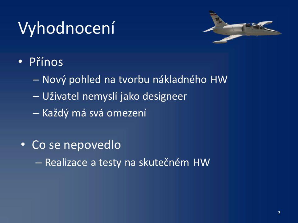Děkuji za Vaši pozornost 8 Milan Hruška Projekt z předmětu Návrh uživateského rozhraní (XD36NUR)ZS2012