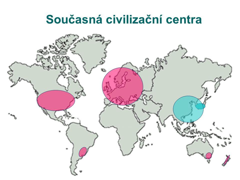 Současná civilizační centra