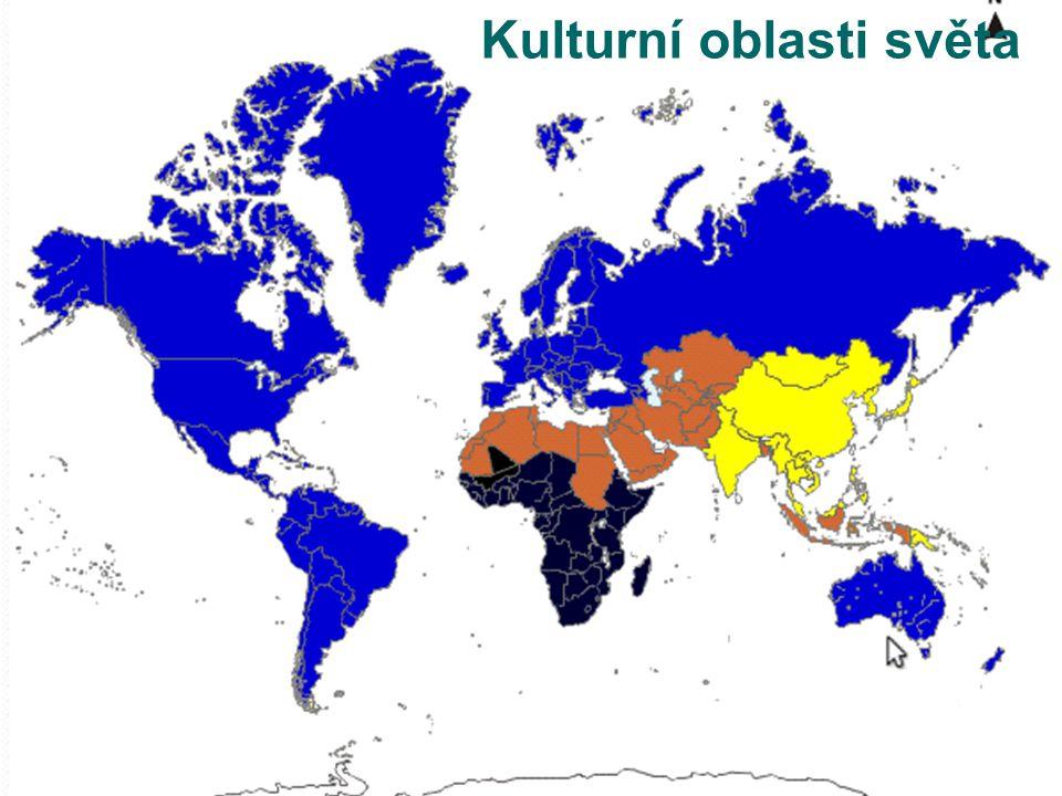 Kulturní oblasti světa