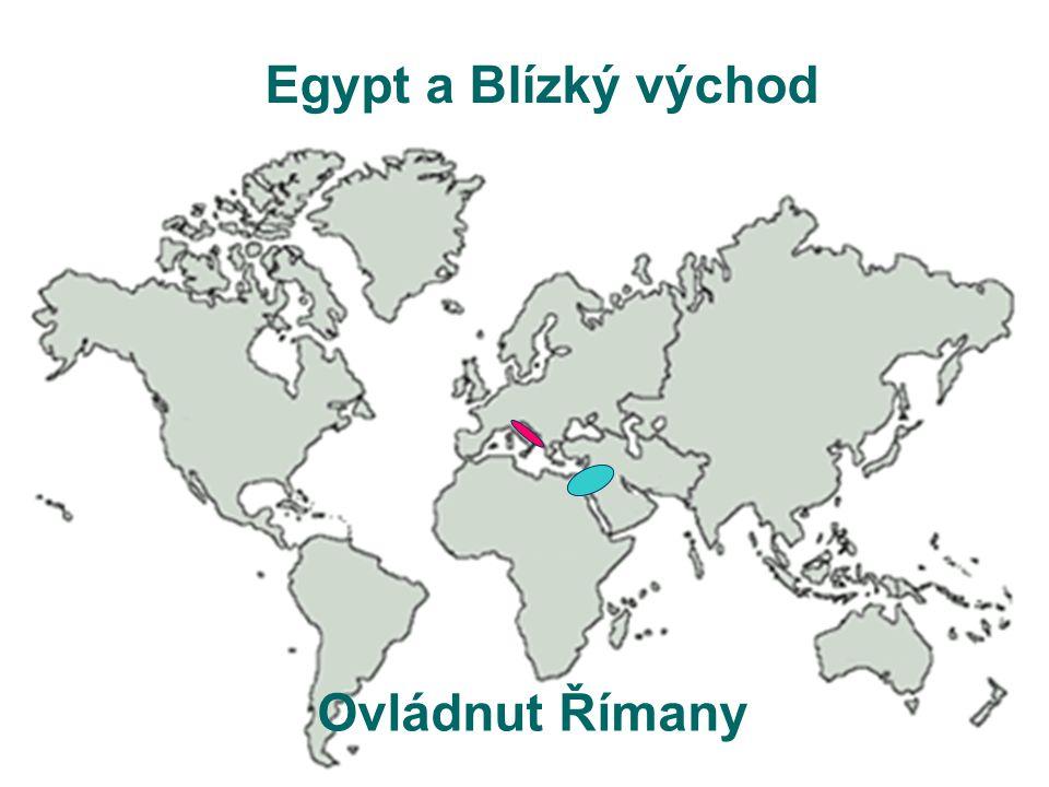 Egypt a Blízký východ Ovládnut Římany