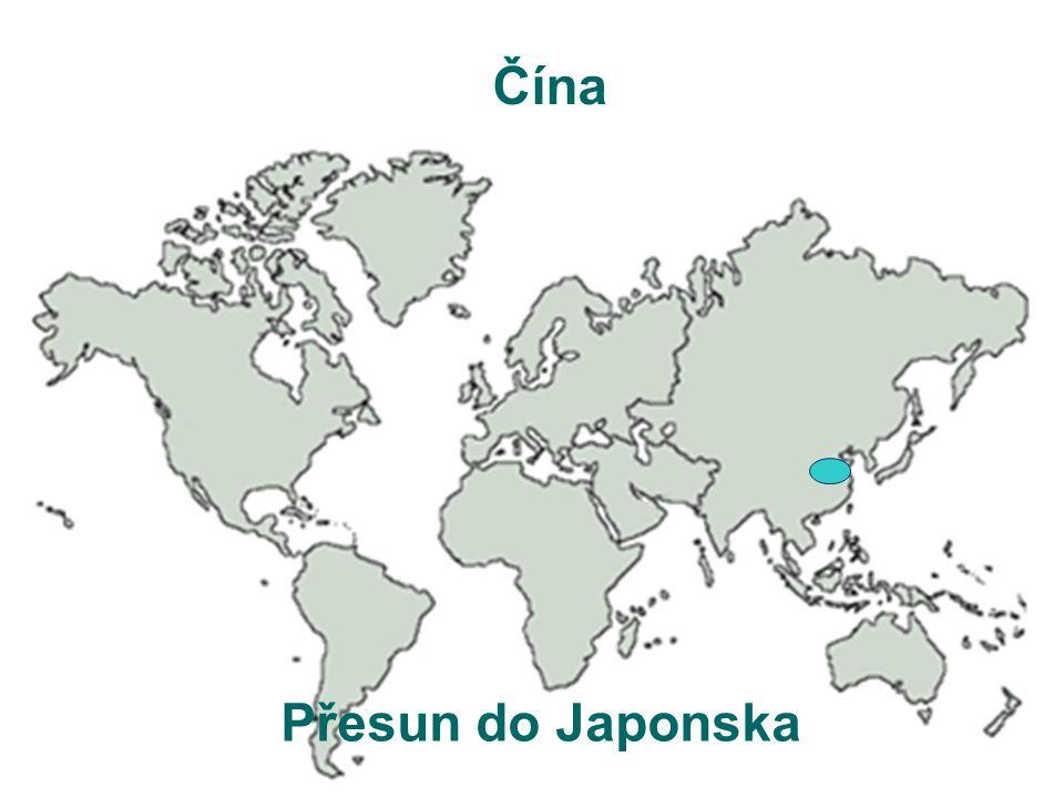 Čína Přesun do Japonska