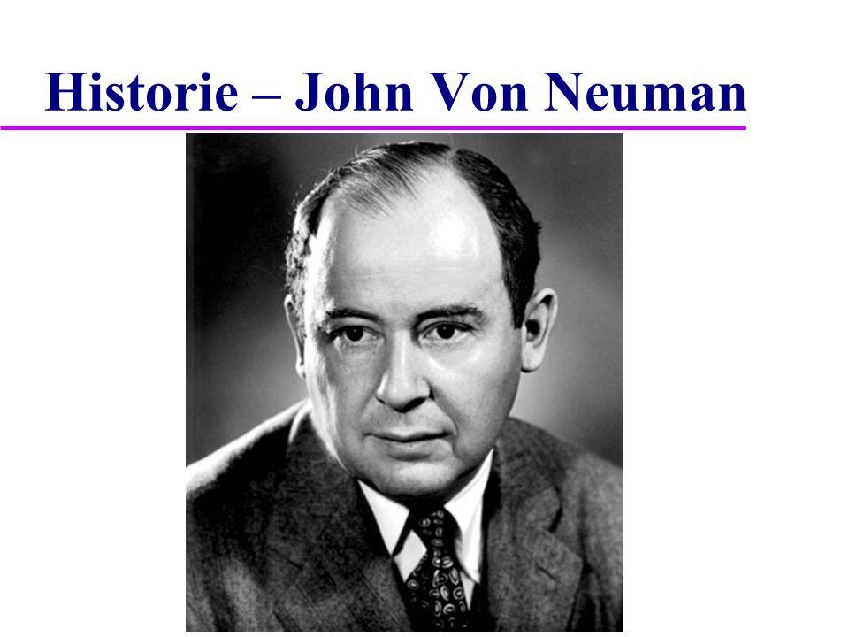 Historie – John Von Neuman