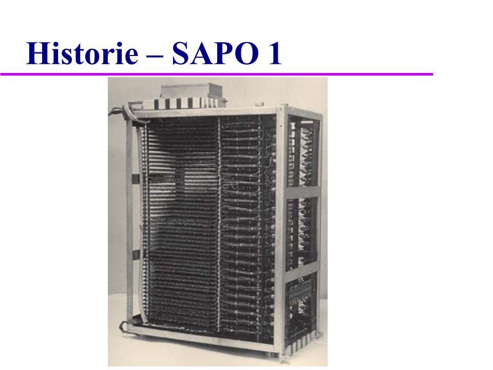 Historie – SAPO 1
