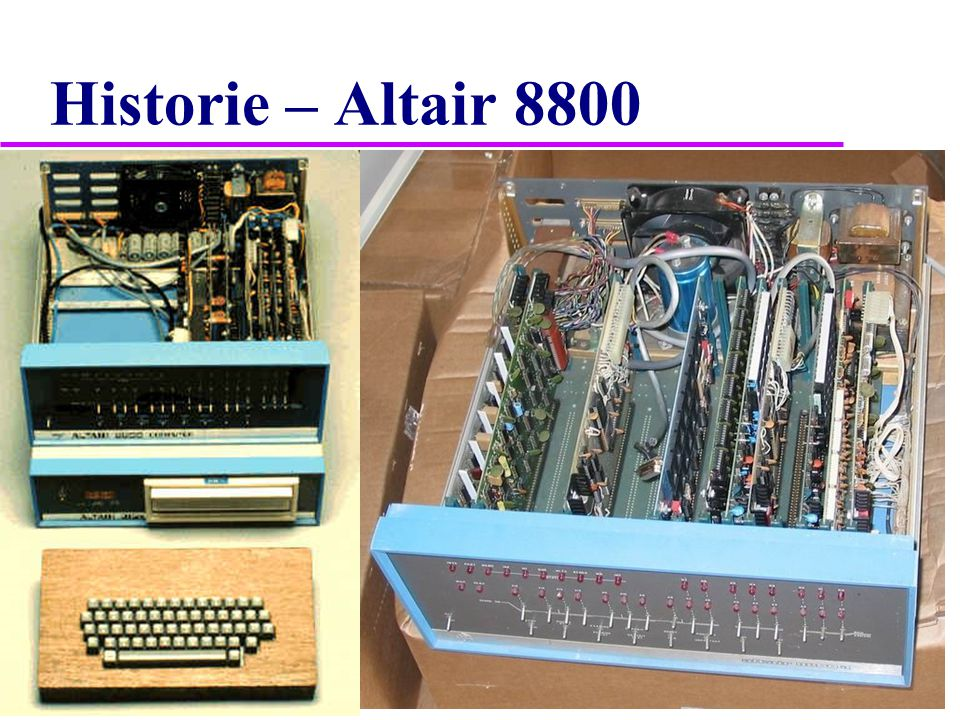 Historie – Altair 8800