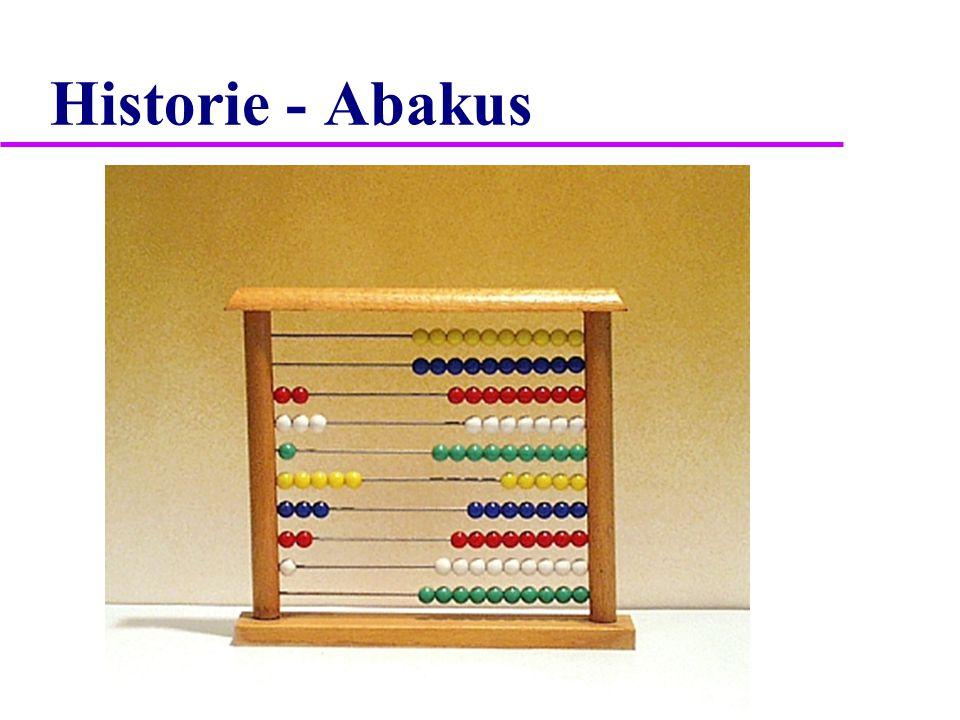 Historie - Abakus