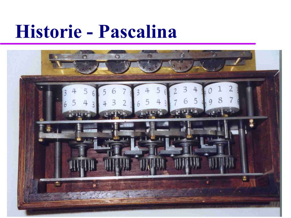 Historie - Pascalina