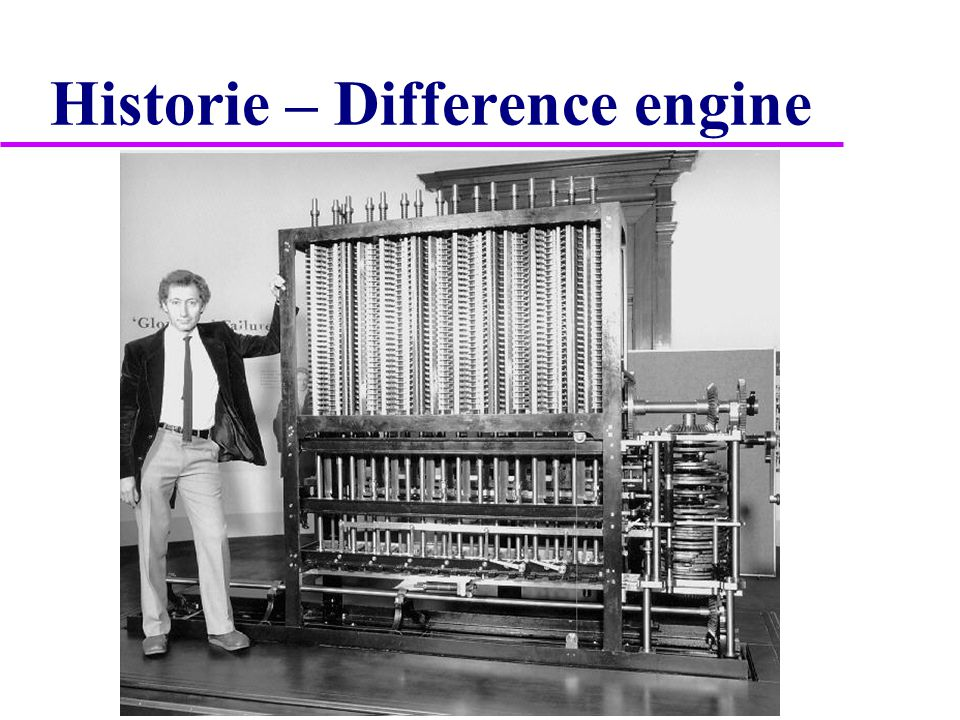 Historie – Analytical engine