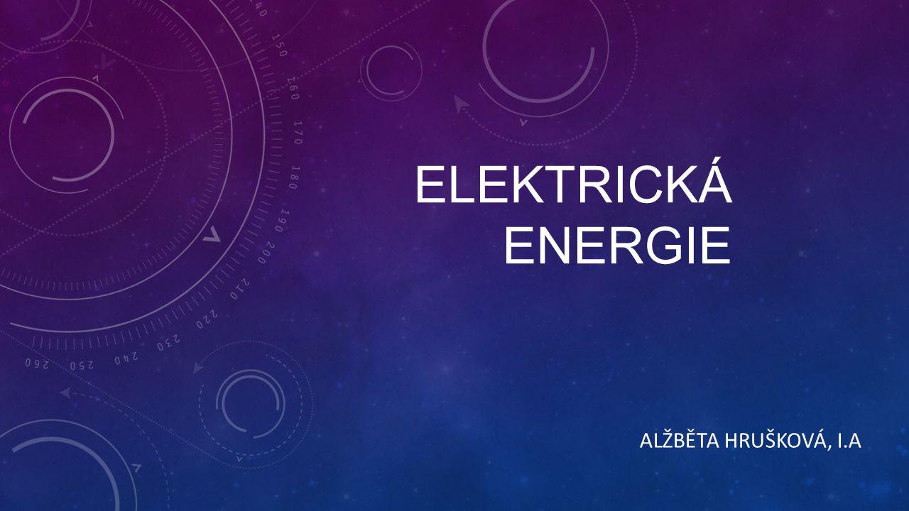 ELEKTRICKÁ ENERGIE JE: schopnost elektromagnetického pole konat elektrickou práci E=U.I.t Jednotka: Watthodina (Wh) Energie přeměněná elektrickým spotřebičem je tím větší, čím:  větší proud spotřebičem protéká  větší napětí je na spotřebiči  déle je spotřebič připojen