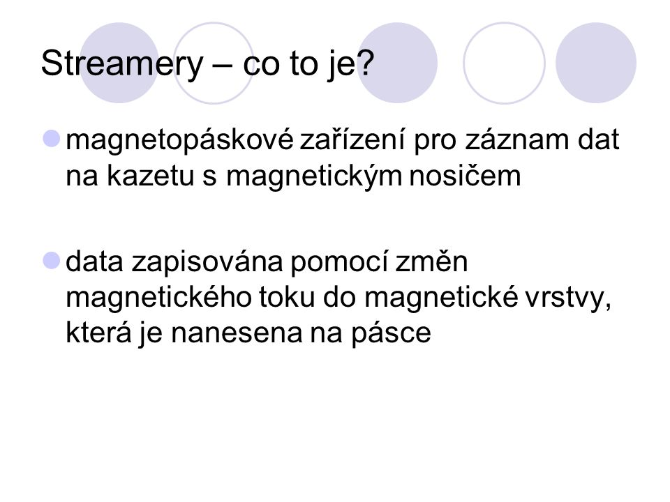 Streamery – co to je.