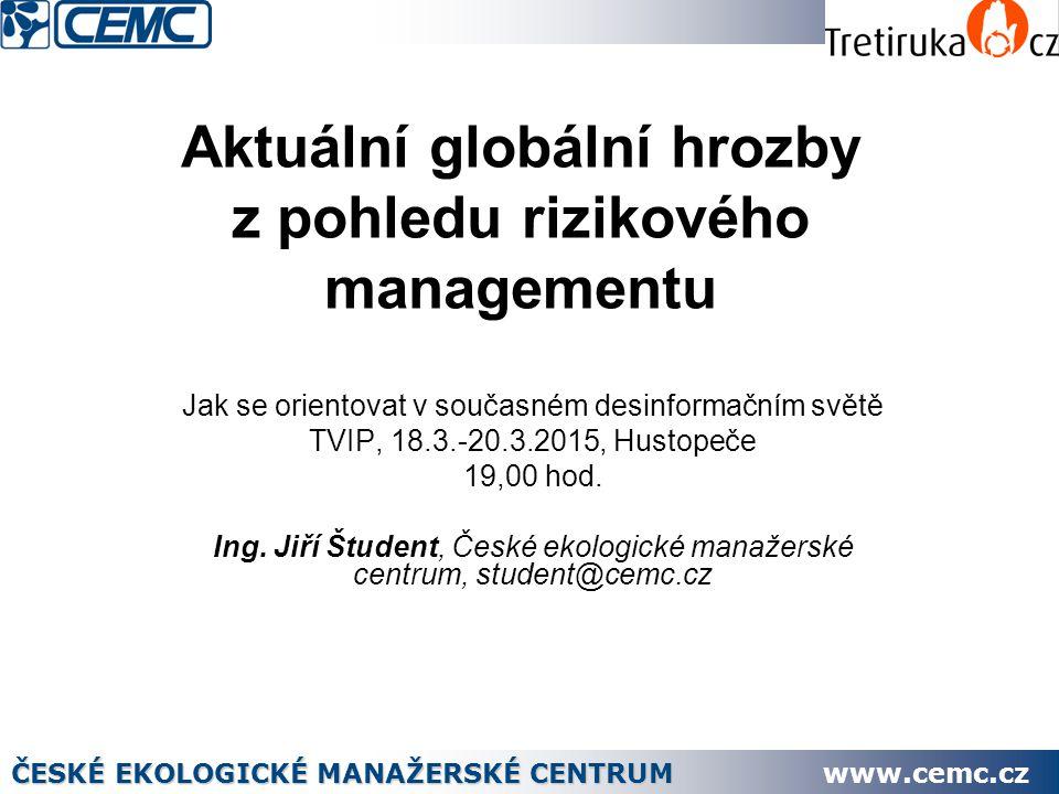 32 Dovoz do Ukrajiny v roce 2013 ČESKÉ EKOLOGICKÉ MANAŽERSKÉ CENTRUM www.cemc.cz