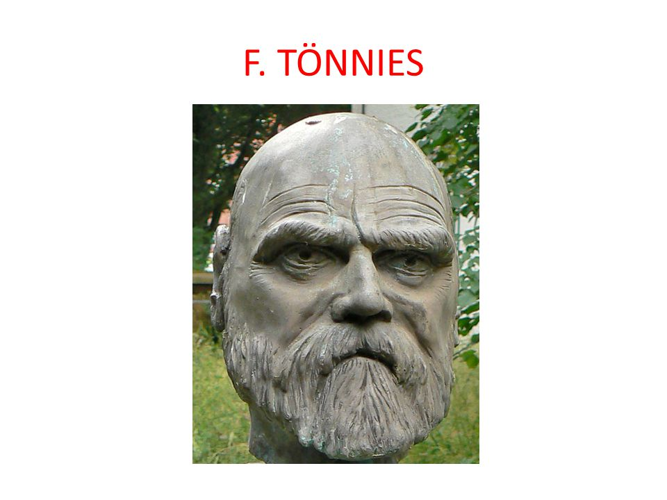 F. TÖNNIES