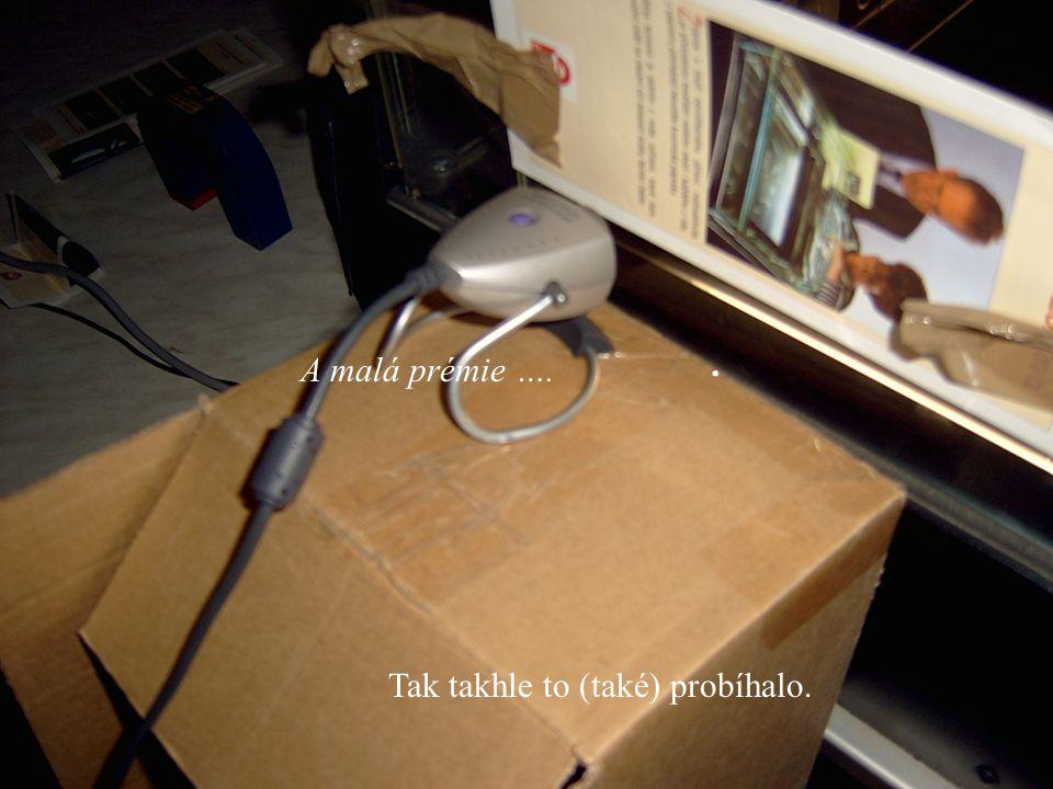 Fyztyd 2004 A malá prémie …. Tak takhle to (také) probíhalo.