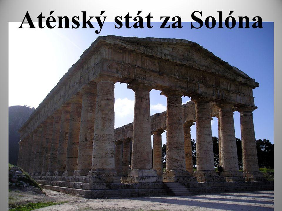 Aténský stát za Solóna