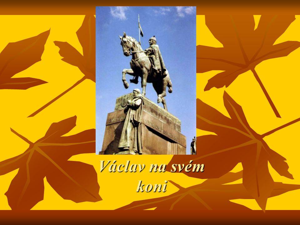 Václav na svém koni