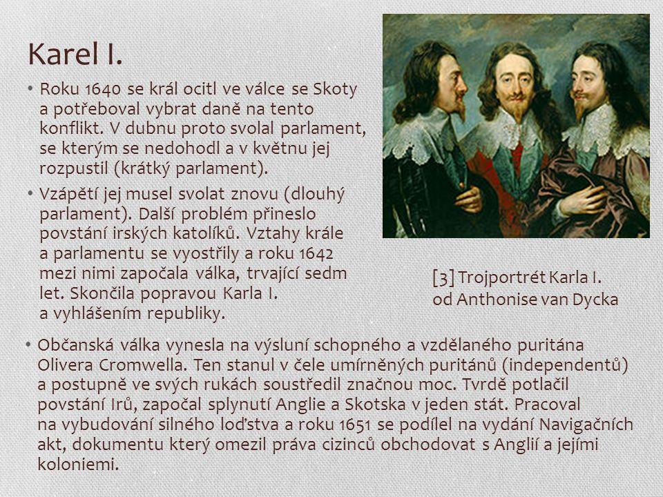 Karel I. Roku 1640 se král ocitl ve válce se Skoty a potřeboval vybrat daně na tento konflikt. V dubnu proto svolal parlament, se kterým se nedohodl a
