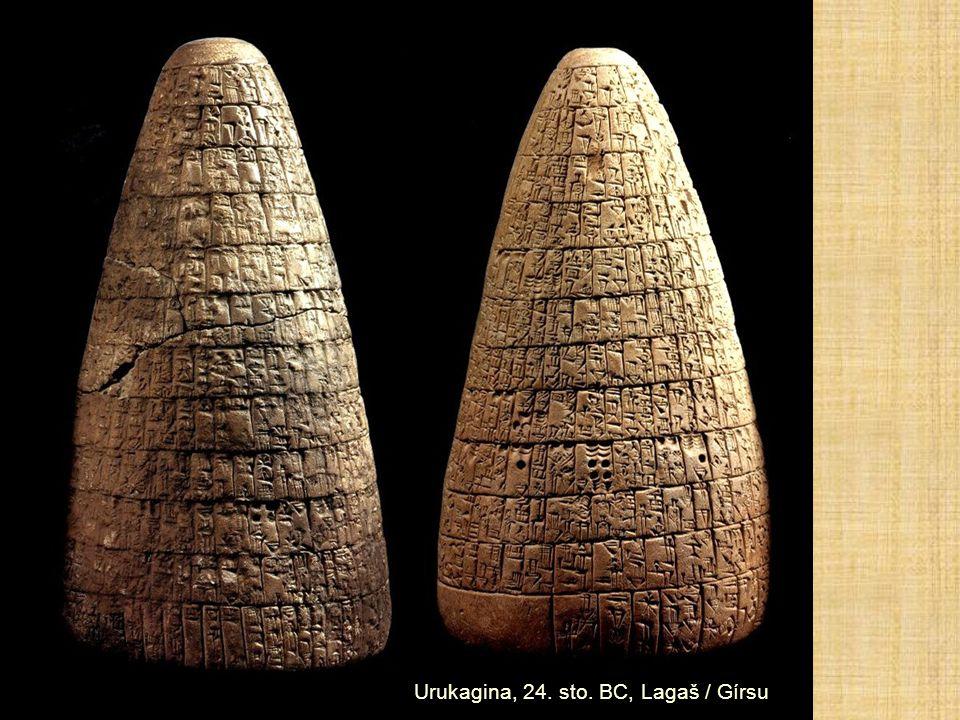Urukagina, 24. sto. BC, Lagaš / Gírsu