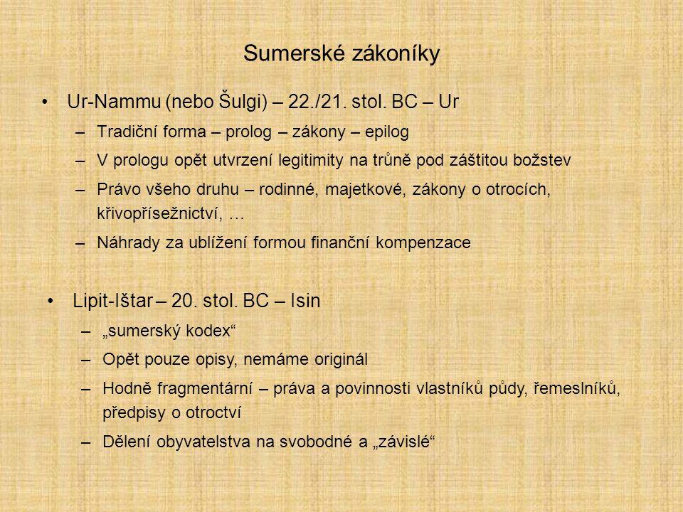 Zákony Ur-Nammuovy